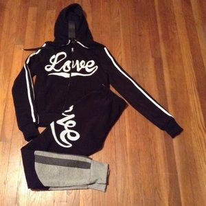 2pc Hooded Jogger